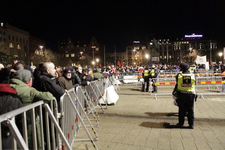 Demonstracja okazała się fiaskiem /AFP