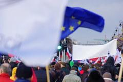 """Demonstracja przed Trybunałem Konstytucyjnym. """"Obywatele dla demokracji"""""""