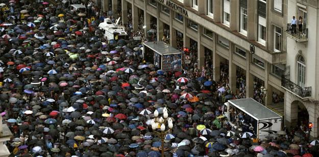 Demonstracja w Buenos Aires fot. Juan Mabromata /AFP