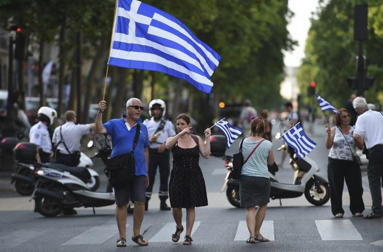 Demonstracja w Grecji, zdj. ilustracyjne /AFP