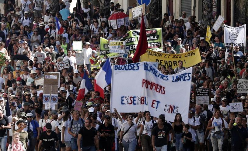 Demonstracja w Montpellier /GUILLAUME HORCAJUELO  /PAP/EPA