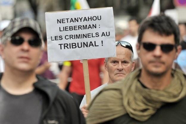 Demonstracja w Paryżu /AFP