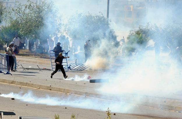 Demonstracja w Tunezji /AFP