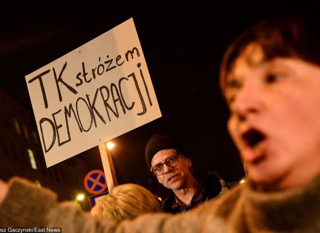 Demonstracja w Warszawie /Mariusz Gaczyński /East News