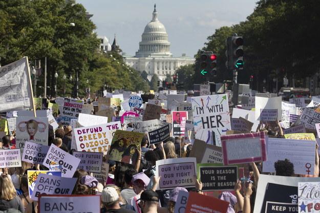 Demonstracja w Waszyngtonie /MICHAEL REYNOLDS    /PAP/EPA