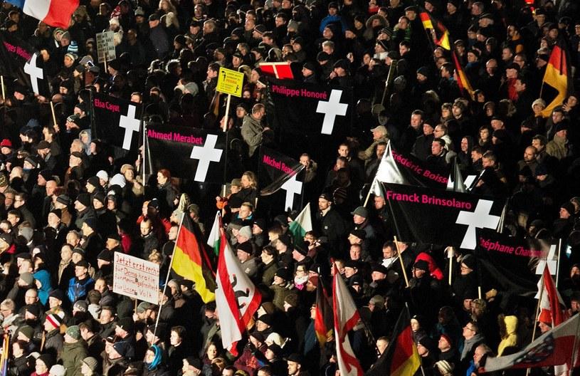 Demonstracje antyislamskie w Berlinie /PAP/EPA