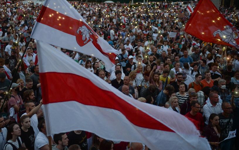 Demonstracje na Białorusi /YAUHEN YERCHAK /PAP/EPA