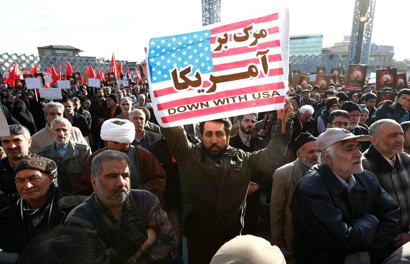 Demonstracje przeciwko Arabii Saudyjskiej w Teheranie /PAP/EPA