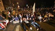 Demonstracje przeciwko ustawie o SN. Przed Sejmem interweniowała policja