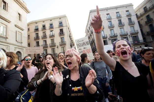 Demonstracje przeszły przez całą Hiszpanię /PAP/EPA/KAI FOERSTERLING /PAP/EPA