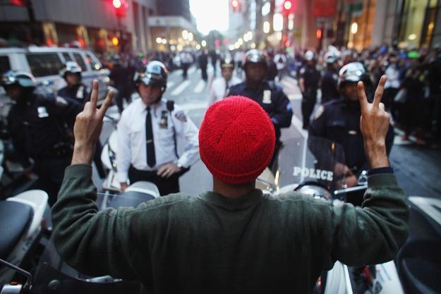 Demonstracje trwają od 17 września /AFP