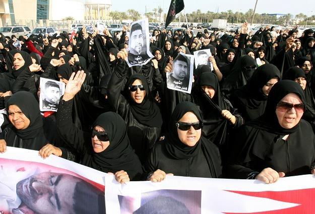 Demonstracje w Bahrajnie /AFP