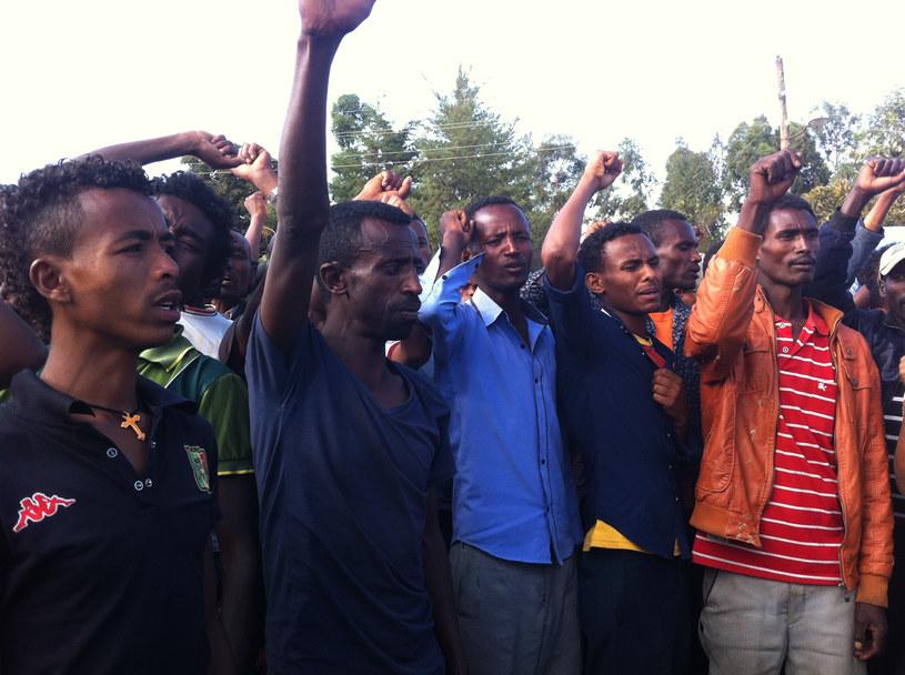 Demonstracje w Etopii zostały brutalnie stłumione /AFP