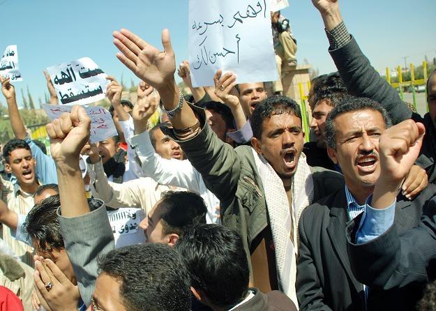 Demonstracje w Jemenie /AFP
