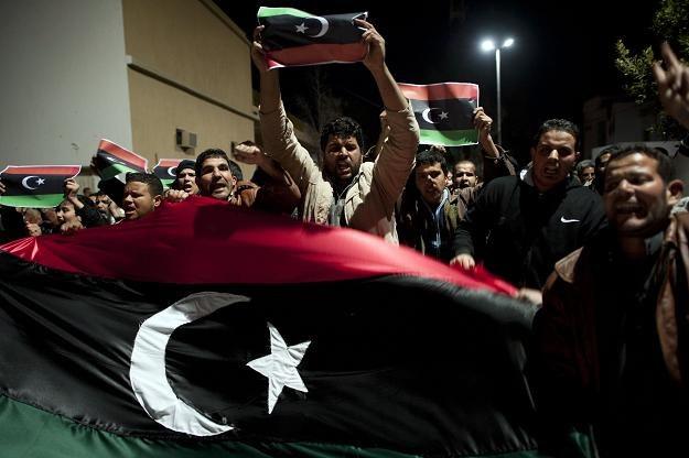 Demonstracje w libijskim mieście Nalut /AFP