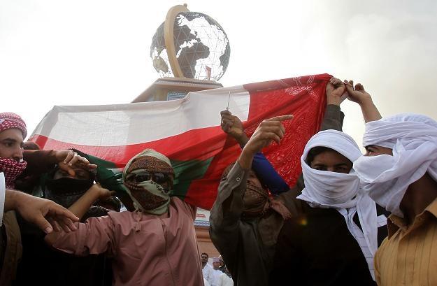 Demonstracje w mieście Suhar /AFP