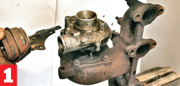 demontaż i weryfikacja /Motor