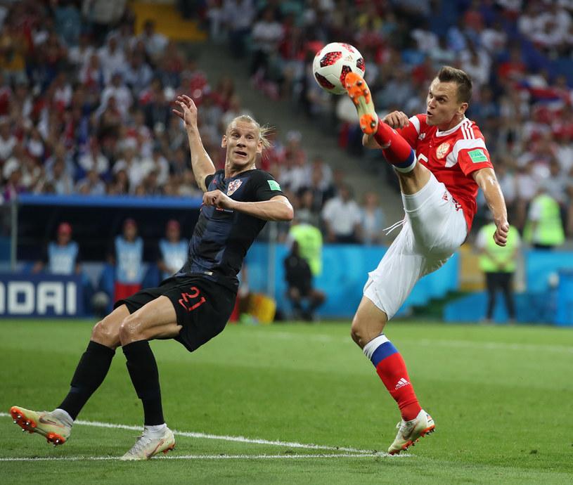 Denis Cheryshev i Domagoj Vida /ZUMA /Newspix