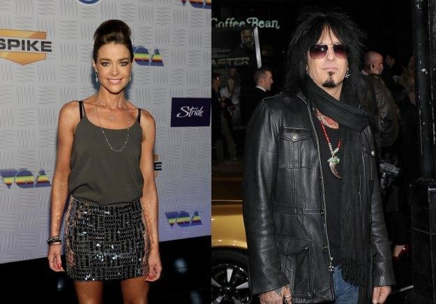 Denise Richards (fot. Christopher Polk) i Nikki Sixx (fot. Jason Merritt) nie są już parą /Getty Images/Flash Press Media