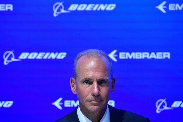 Dennis Muilenburg, dyrektor wykonawczy koncernu Boeing /AFP