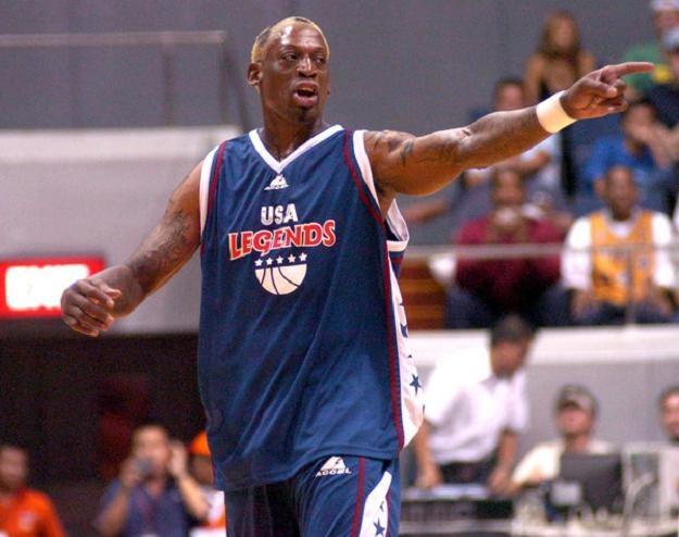 Dennis Rodman został włączony do Galerii Sław ligi NBA /AFP