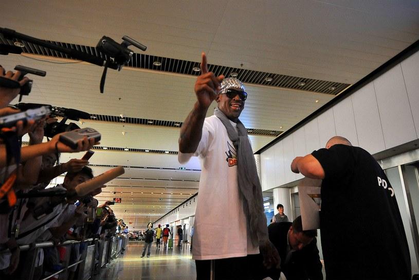 Dennis Rodman /AFP