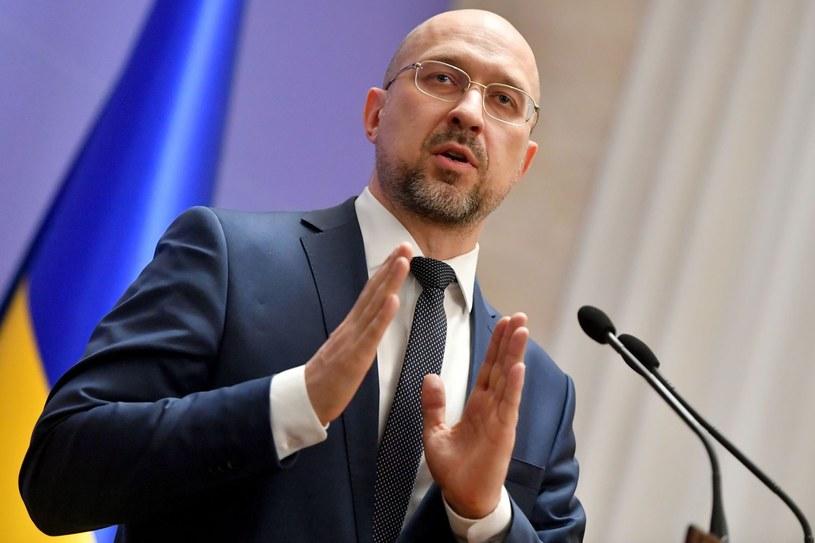 Denys Szmyhal, premier Ukrainy /AFP