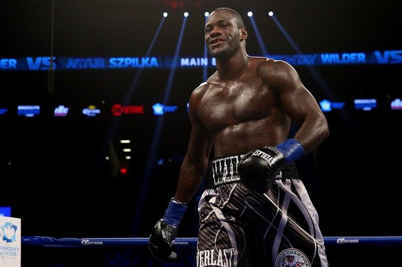 Deontay Wilder, mistrz świata WBC w wadze ciężkiej /AFP