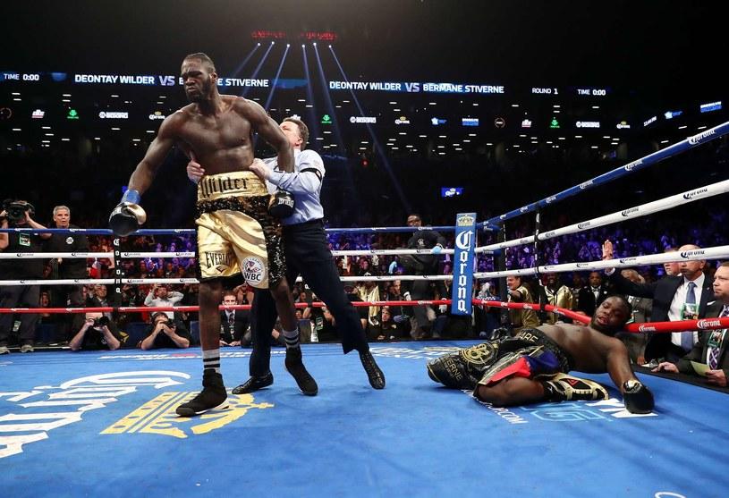 Deontay Wilder niedawno znokautował Bermane'a Stiverne'a /AFP