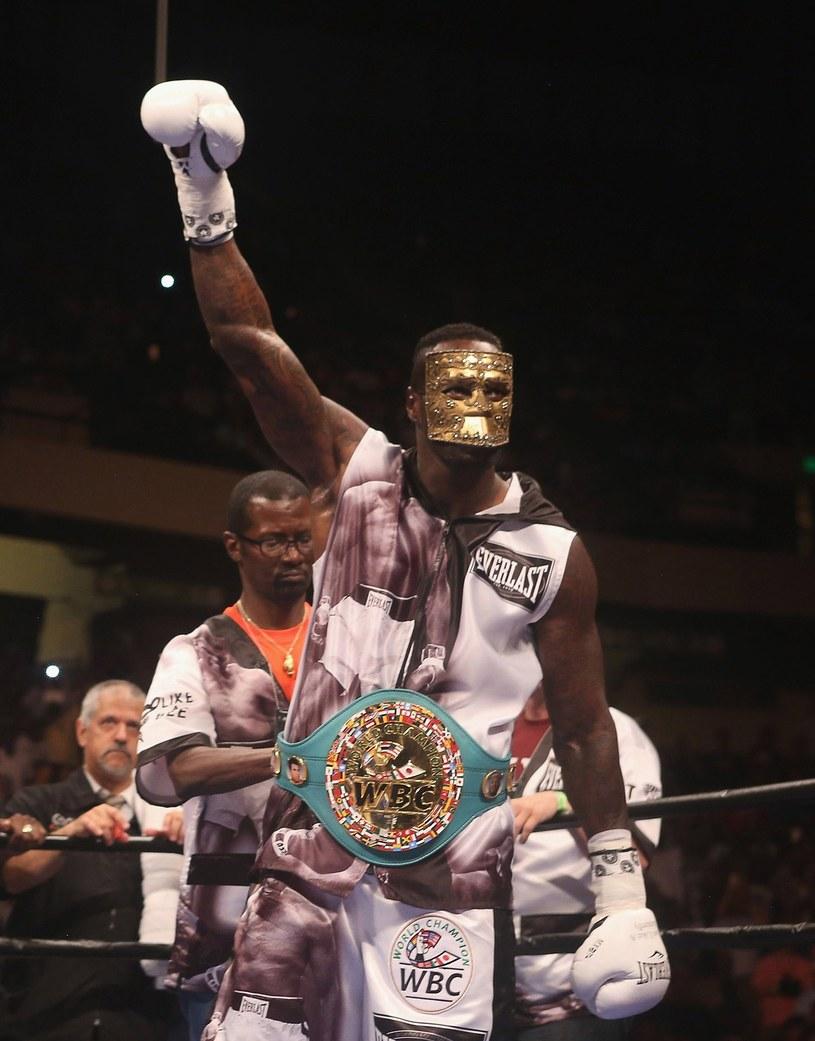 Deontay Wilder po raz szósty będzie bronił pasa WBC /AFP