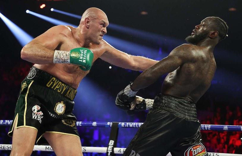 Deontay Wilder przegrał wyraźnie z Tysonem Furym w Las Vegas /AFP