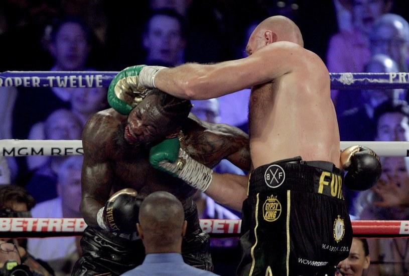 Deontay Wilder przegrał z Tysonem Furym /AFP