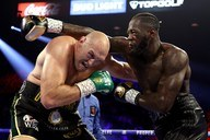 Deontay Wilder vs. Tyson Fury /AFP /AFP