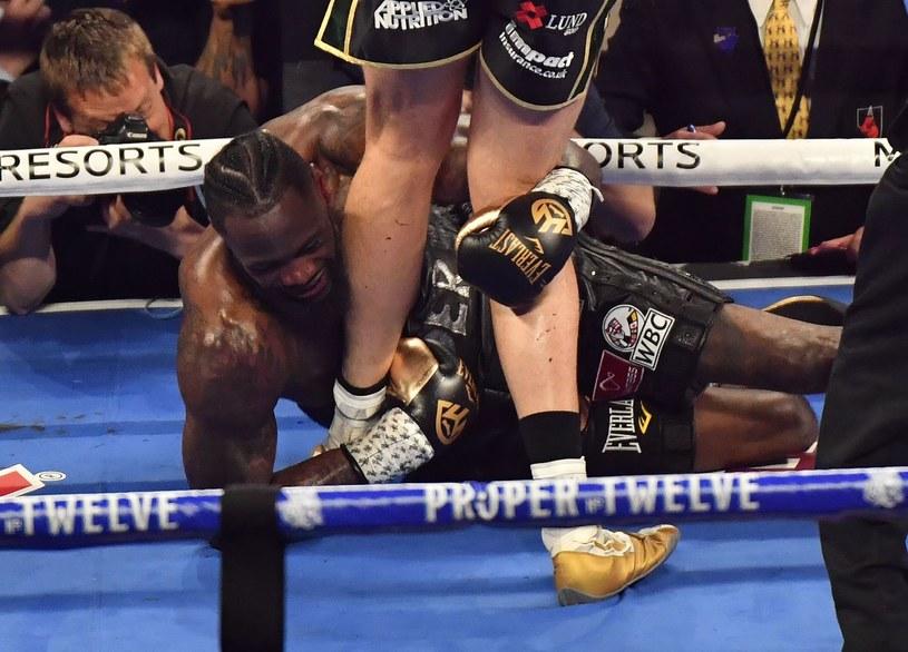 Deontay Wilder został znokautowany przez Tysona Fury'ego /AFP