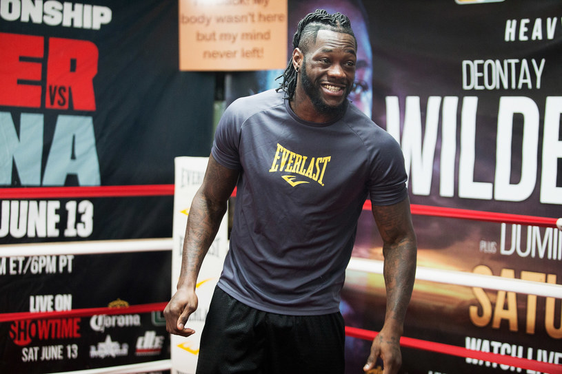 Deontay Wilder /David A. Smith /Getty Images