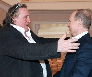 Depardieu zmienił religię. Namówił go spowiednik Putina