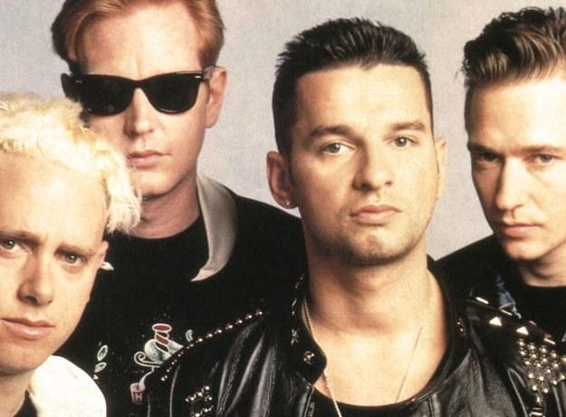 Depeche Mode jeszcze z Alanem Wilderem (z prawej) /