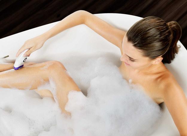Depilację możesz zrobić nawet podczas kąpieli /materiały prasowe