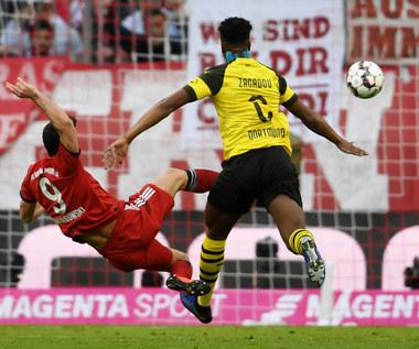"Der Klassiker. Bayern Monachium - Borussia Dortmund 5-0. Dwa gole ""Lewego"""
