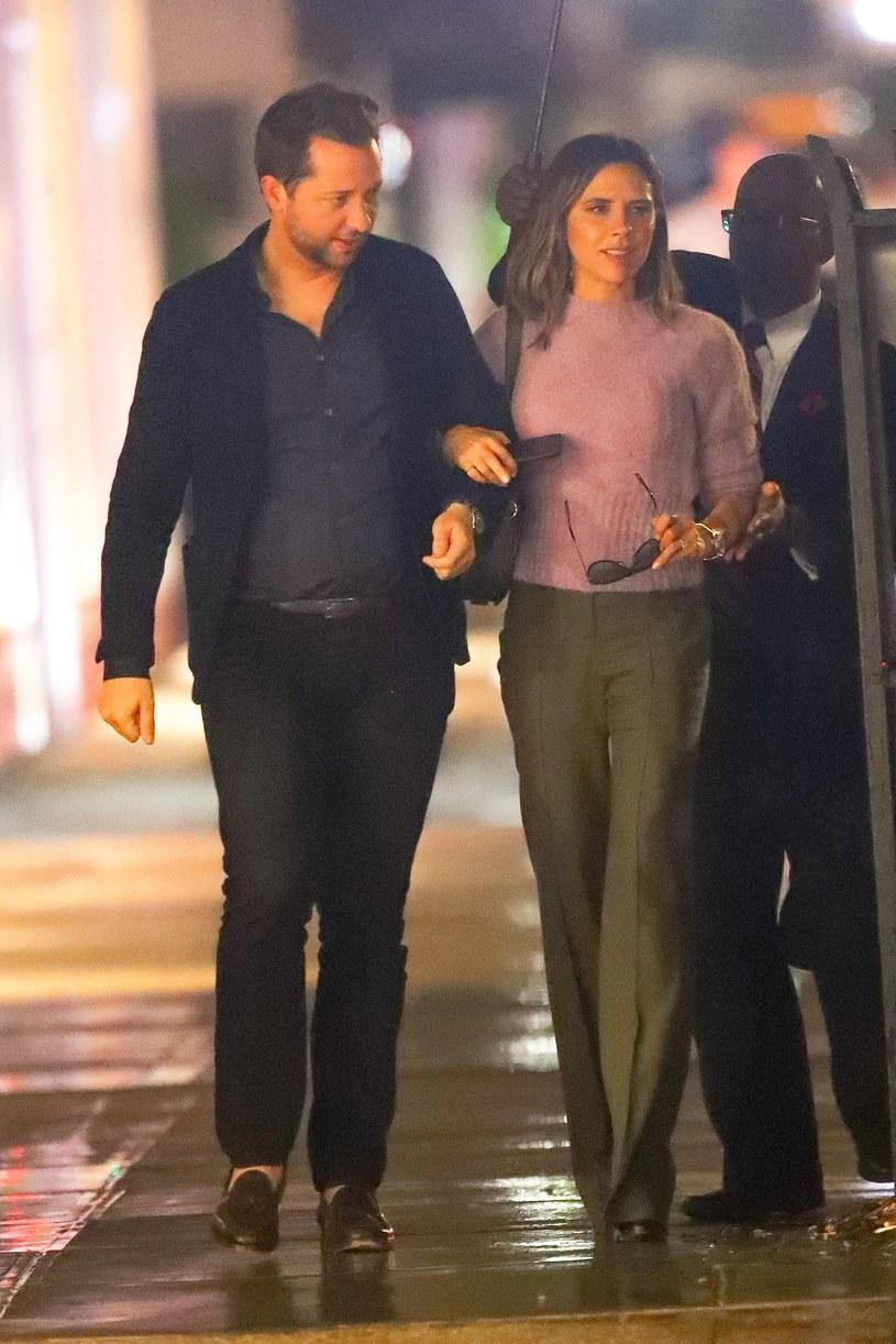 Derek Blasberg i Victoria Beckham /East News