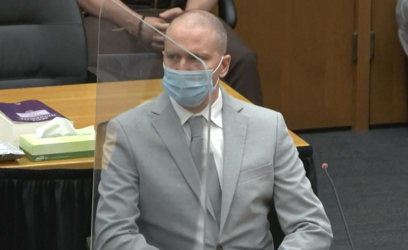 Derek Chauvin skazany na 22,5 roku więzienia /East News