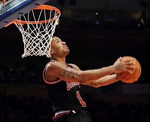 Derrick Rose, gwiazda Chicago Bulls /PAP/EPA