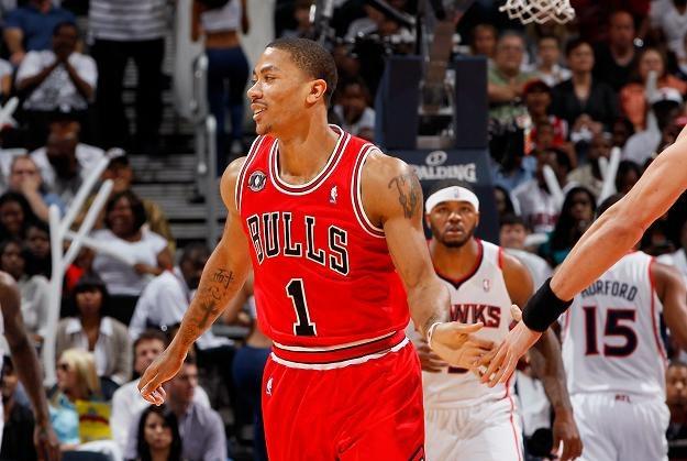 Derrick Rose z Chicago Bulls zdobył w piątek aż 44 punkty /AFP