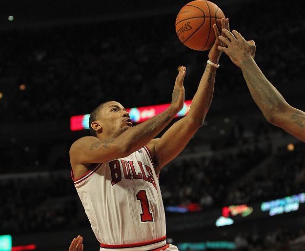 Derrick Rose z Chicago Bulls /AFP