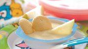 Deser gruszkowy z jogurtem po 11. miesiącu
