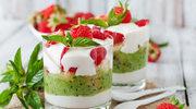 Deser jogurtowy z kiwi