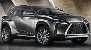Design Lexusa NX nawiązuje do prototypu LF-NX, zaprezentowanego jesienią ubiegłego roku. /Lexus