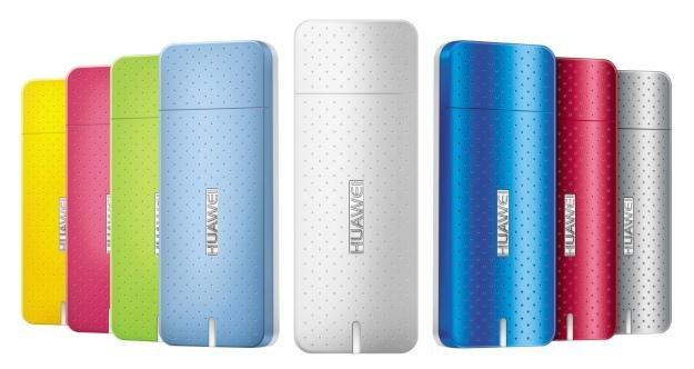 Designerski, miniaturowy modem Huawei /materiały prasowe