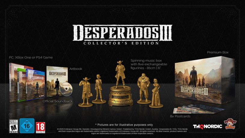 Desperados III w Edycji Kolekcjonerskiej /materiały prasowe