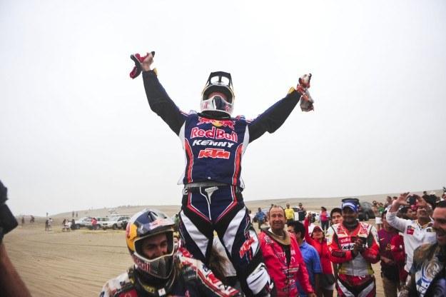 Despres okazał się najlepszym motocyklistą /AFP